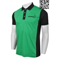 Custom Green Polo Shirt