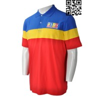 Produce Blue and Yellow Polo Shirt