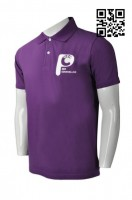 OEM Mens Purple Polo