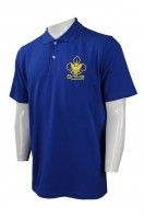 Custom-made Blue Polo Shirts