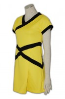 Customize Yellow Cheerleader Costume