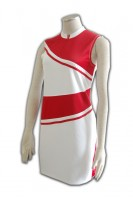 Custom White Cheerleading Uniforms