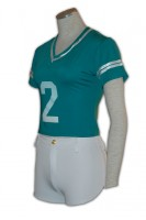 Customized Green Cheerleader Costume
