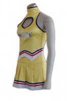 Custom-made Yellow Cheerleader Costume