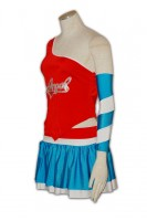 Custom-made Red Cheerleader Outfit