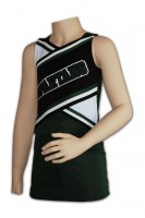 Customized Black Cheerleader Outfit