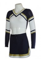 Bespoke Long Sleeve Cheerleading Uniforms
