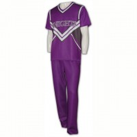 Customize Purple Cheerleader Costume