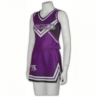 Customized Purple Cheerdance Outfit