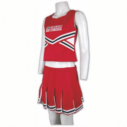 Personalized Red Cheerleader Uniform