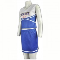 Bespoke Purple Cheerleading Uniforms