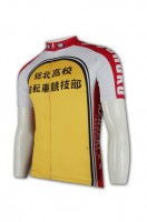 Personalized Mens Long Sleeve Cycling Jersey