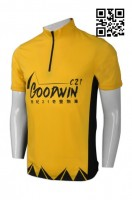 OEM Black Yellow Cycling Jersey