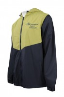 OEM Men's Colorful Windbreaker