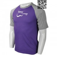 Print Kids Purple T-Shirts