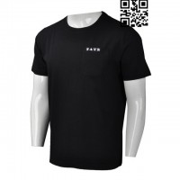 Custom Order Black T-Shirt Mens
