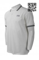 Customize All White Polo Shirt