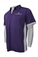 Tailor-made Purple Polo Shirts