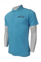 Customize Light Blue Polo Shirt