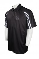 Custom-made Black Polo Shirt