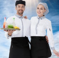 Hotel trendy waiter uniforms