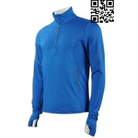 Order Men's Long Sleeved Cycling Tops Sample