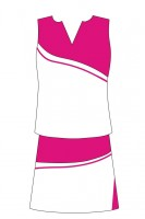 Bespoke Pink Cheer Outfits