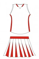Custom Order Sleeveless Cheer Clothes