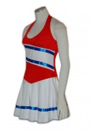 Customize Red Cheer Dress