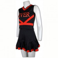 Customize Black Cheer Uniforms