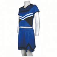 Custom-made Blue Cheer Uniform