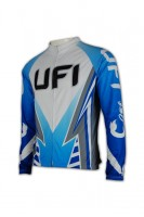 OEM Long Sleeve Thermal Cycling Jersey
