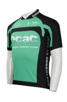 OEM Green and Black Cycling Jersey