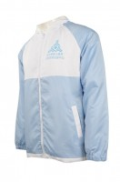 Design Blue Hooded Jacket