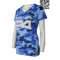 Print Camouflage Girls T-Shirts