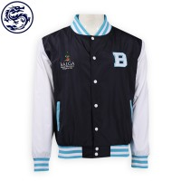 design hit color sleeve personality baseball Jacket baseball Jacket manufacturer