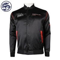Customized Men's Baseball Slim Team Baseball jacket