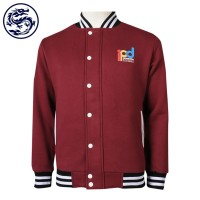 custom men's baseball jacket print logo company internal training team spirit team shirt baseball jacket producer
