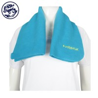making a net color fleece scarf Embroidery logo Pharmaceutical Promotion Gifts Scarf Shop
