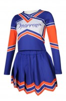 Large-scale Custom-made Long-sleeve Cheerleading Dress