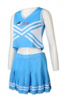 A large number of custom sleeveless waist dress cheerleading suits