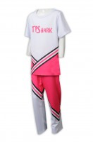 Sample Customized Men's Cheerleading Dress