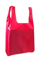 Design a clean color shrink environmental protection bag for easy carrying