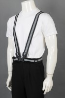 Design industrial uniform with crossed back and strong buckle at night
