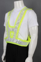 Customized fluorescent yellow vest jacket industrial uniform