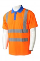 Tailor-made short sleeve reflective industrial uniform